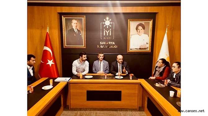 Dikbayır'dan Adapazarı İlçe Başkanlığına teşekkür ziyareti
