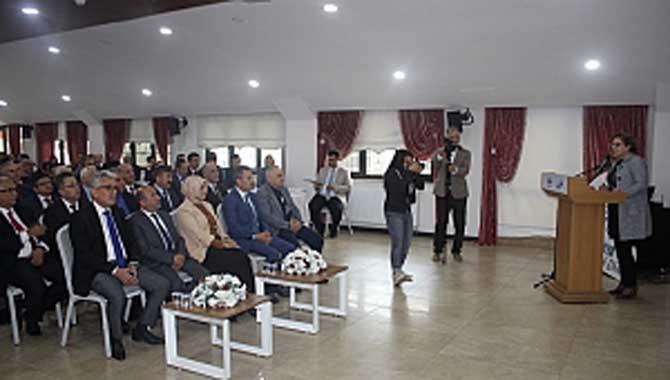 Eğitimde Dönüşüm Süreçlerini Yönetme Projesi tanıtıldı.