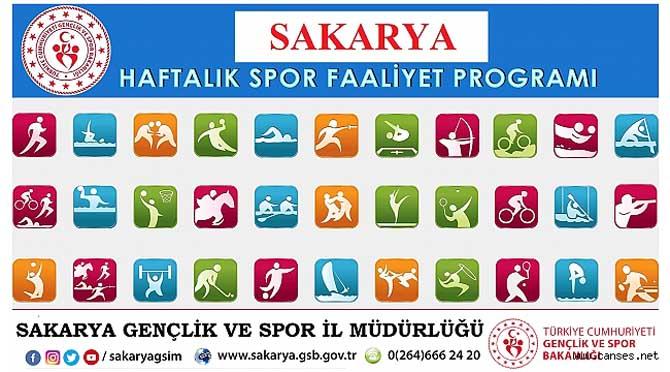 HAFTALIK SPOR FAALİYET PROGRAM