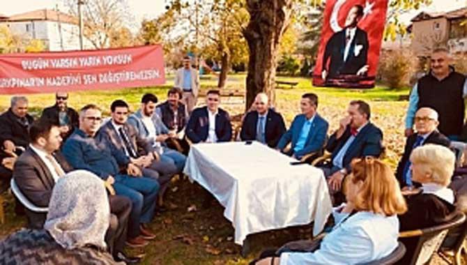 İYİ PARTİ GENEL BAŞKAN YARDIMCISI KIRKPINAR'DA İLK İMZAYI VERDİ