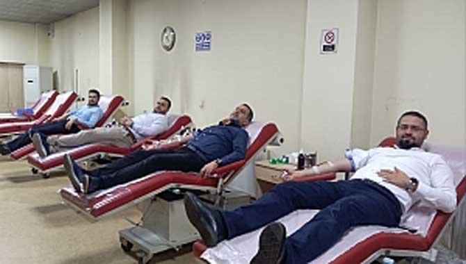 'Kan bağışla ki can yaşasın'