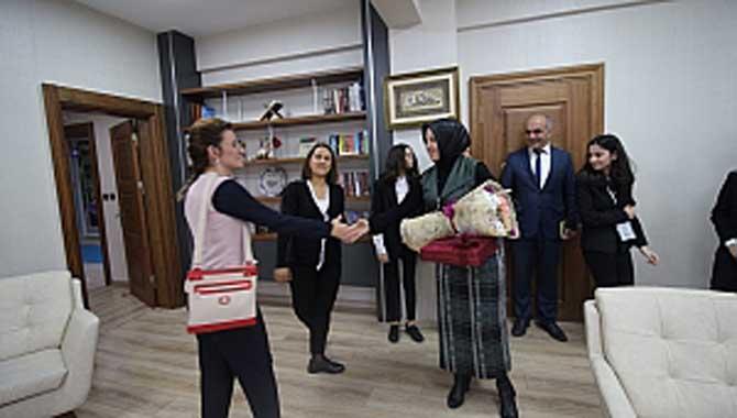 Mehmet Zumra Kuş Ortaokulundan İl Milli Eğitim Müdürüne Ziyaret