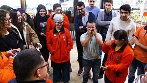 Öğrencilerden Engellilere Ziyaret