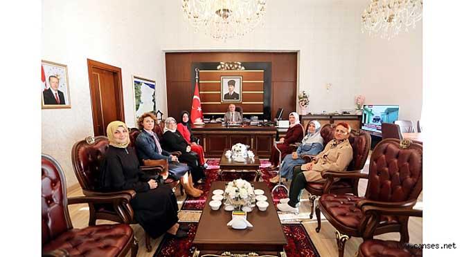 Sakarya Hanımlar Dayanışma Kooperatifi Üyelerinden Vali Nayir'e Ziyaret