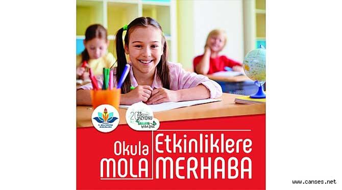 Sakarya Milli Eğitim Müdürlüğünden Ara Tatil Etkinlikleri