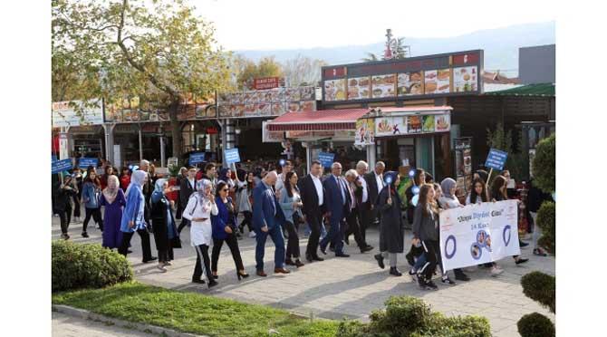 Sapanca' da Sağlıklı Yaşam İçin Farkındalık Yürüyüşü