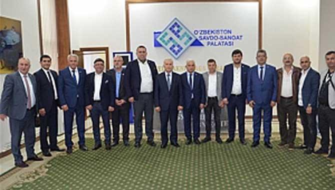 SATSO heyeti Özbekistan'ın yatırım fırsatlarını inceledi