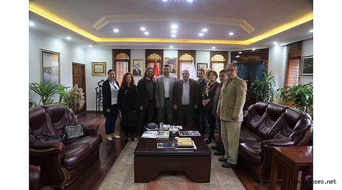 SATSO Turizm Komisyonu Projelerini Başkan Özen'e Sundu