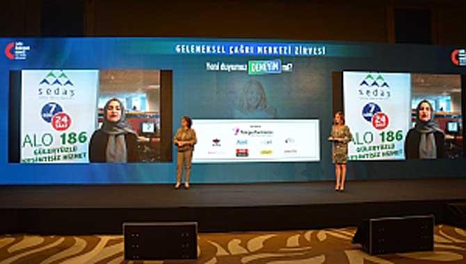 SEDAŞ Çağrı Merkezine Altın Kulaklık Ödülü