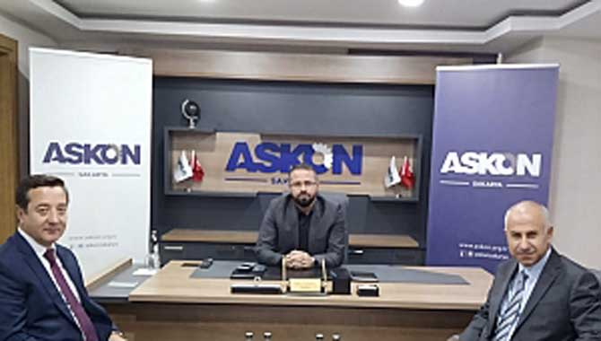 SGK ve İŞKUR ASKON'A MİSAFİR OLDU TEŞVİKLERİ ANLATTILAR