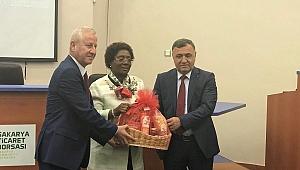 Tanzanya Ankara Büyükelçisi Sakarya'da…