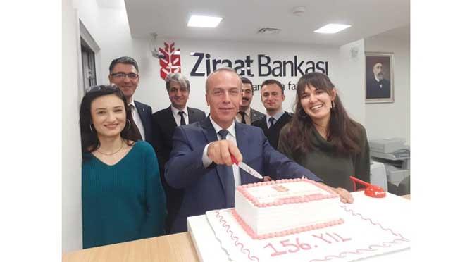 Ziraat Bankası'nın 156 .cı kuruluş Yıldönümü