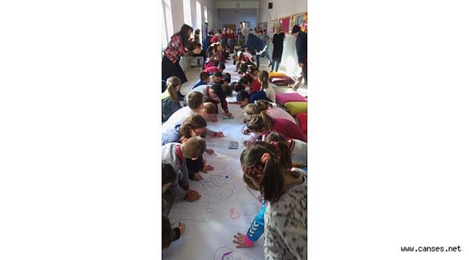"""Atatürk İlkokulunda """"Engellere Rağmen Bir Bütünüz"""" etkinliği"""