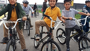 'Ayçiçeği Bisiklet Vadisi okullar ile buluşuyor'