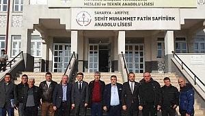 BASIN DUYURUSU - SATSO 21. Meslek Komitesi meslek liseleri ile işbirliğine devam ediyor