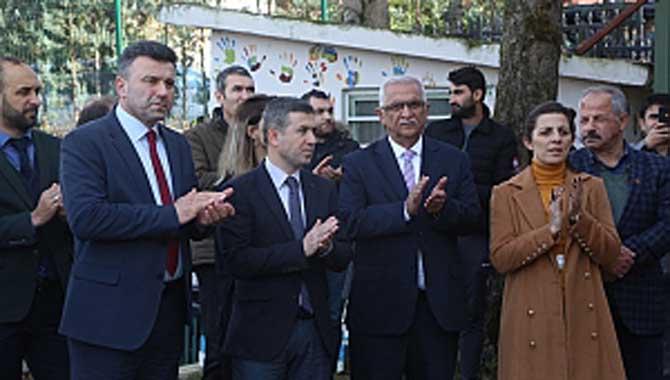 Başkan Özen, Rehabilitasyon Merkezinin Açılışına Katıldı
