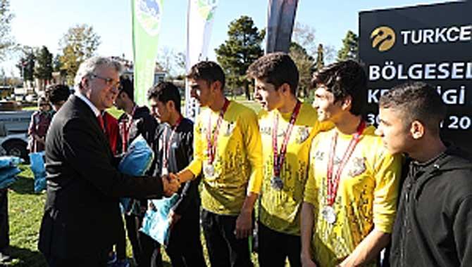 Bölgesel Kros Ligi Donatım Park'ta sonlandı