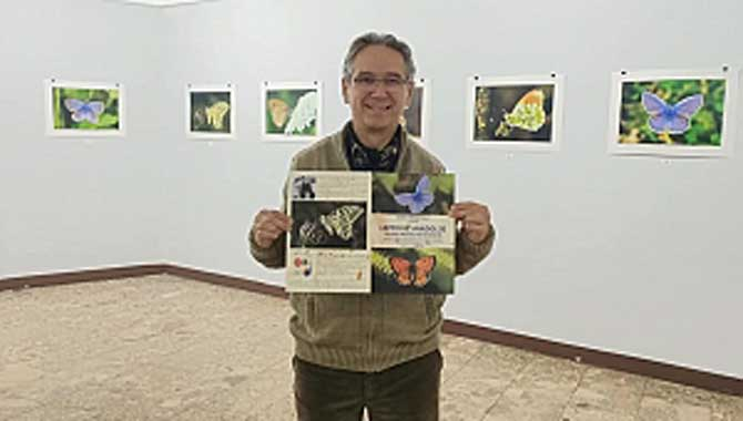Bosna hersek te kelebekler sergisi
