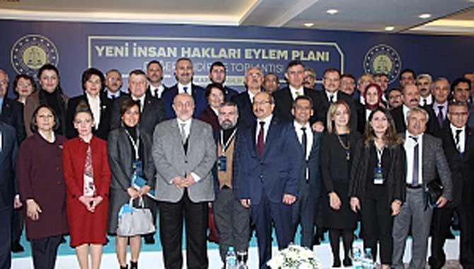 İnsan Hakları Eylem Planı Değerlendirme Toplantısı yapıldı