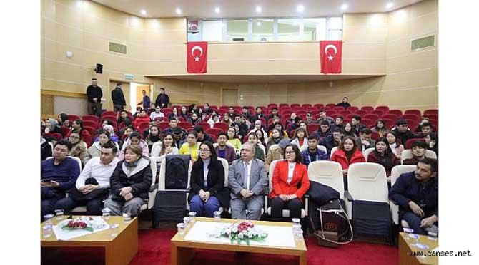 Kazakistan Öğrenci Heyetinden Vali Nayir e Ziyaret
