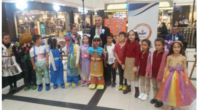 Mehmet Demir İlkokulundan 'Sıfır Atık' Sergisi