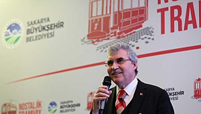 """""""Nostaljik Tramvay Sakarya'ya hayırlı olsun"""""""