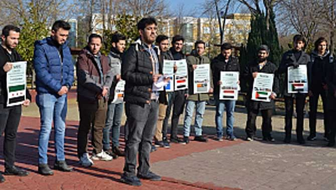 SAÜ'lü Öğrenci Topluluklarından 10 Aralık Açıklaması