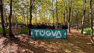 """Türkiye Gençlik Vakfı (TÜGVA) Sakarya """"Doğa Akademi"""" kapsamında doğa kampı düzenledi"""