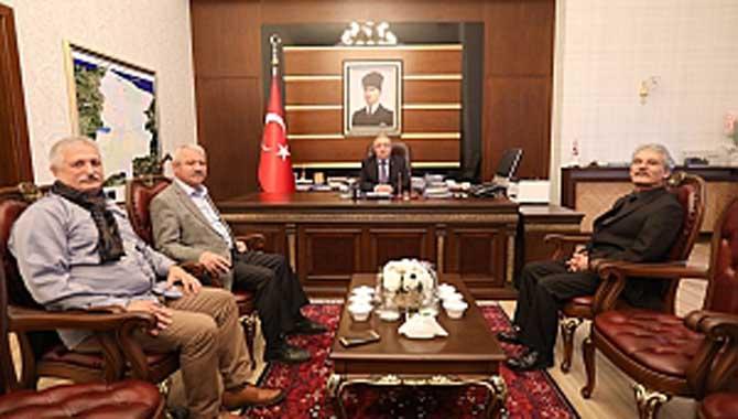 TYB Onursal Başkanı Doğan Vali Nayir'i Ziyaret Etti
