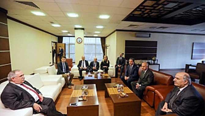 Vali Nayir den Federal Elektrik Firmasına Ziyaret ve Teşekkür