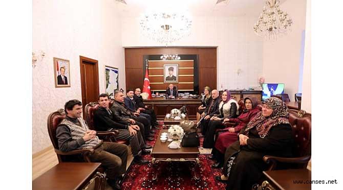 Vali Nayir'e Dünya Engelliler Günü Ziyareti