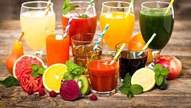 Yılbaşına Enerjik Girmek için %100 Meyve Suyu İçin!