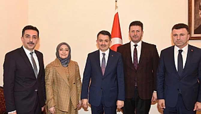 Başkan Özen'in, Ankara Temasları