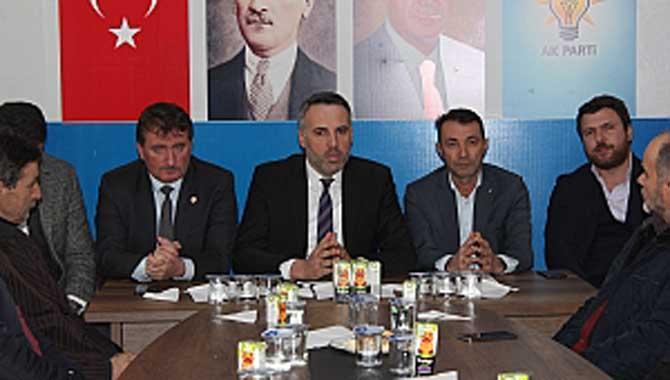 BAŞKAN TEVER'DEN FERİZLİ'DE İSTİŞARE TOPLANTISI