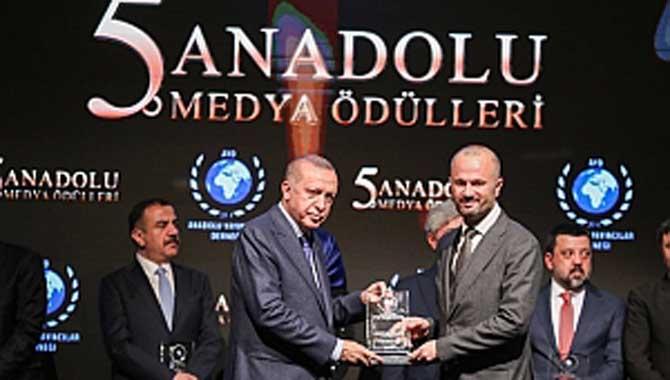 """""""Ekonomiye Güç Katanlar Ödülü"""" PTT'nin"""
