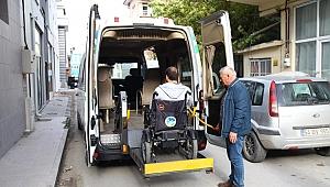 Engelli vatandaşlar için özel taşıma hizmeti