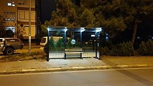 Kapalı duraklara LED sistemleri kuruldu