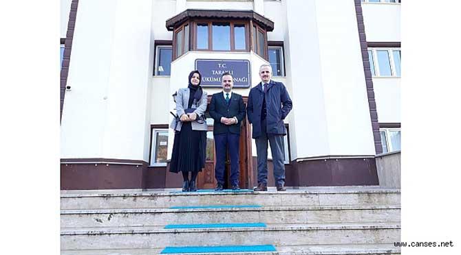 Kaymakamımız Sn. Abdullah ARSLANTÜRK' e Ziyaret...