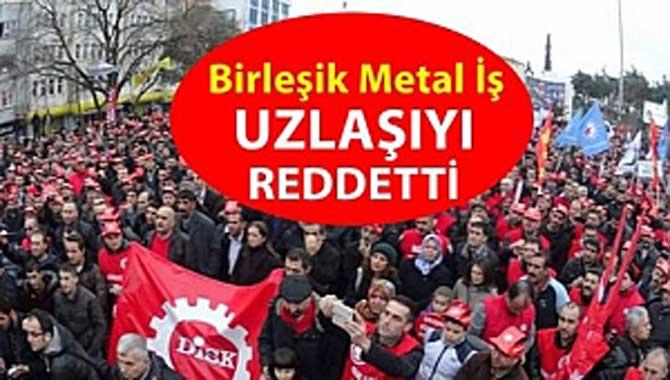 MESS'in uzlaşı çağrısını Birleşik Metal-İş reddetti