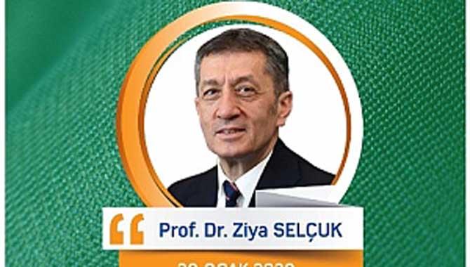 Milli Eğitim Bakanı Prof. Dr. Ziya Selçuk Sakarya'ya Geliyor