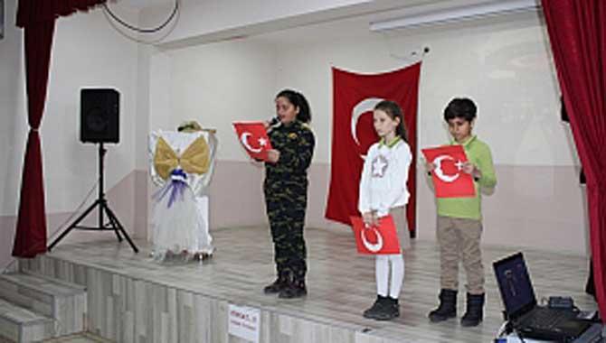 Şehit FethiSekin İlkokulunda Anma Programı