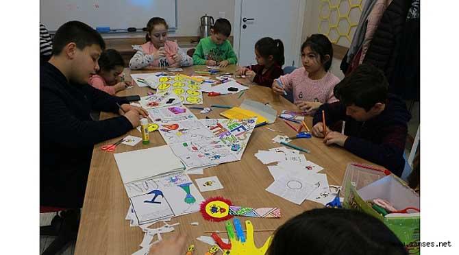 SGM öğrencilerinden 'Çocukça' gazete