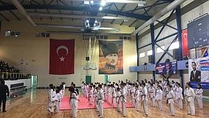 Taekwondo kemer sınavları büyük ilgi gördü