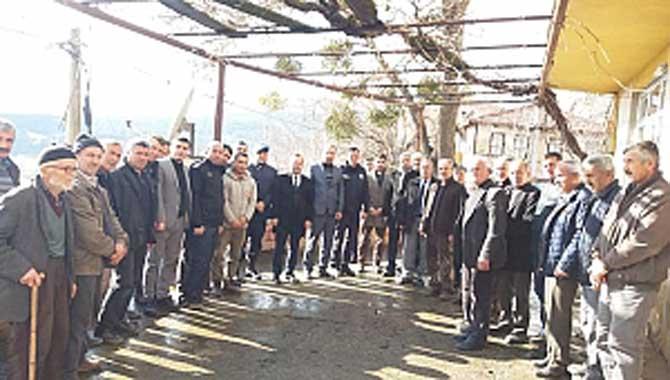 Taraklı Kaymakamı Abdullah Arslantürk'ün Ziyaretleri Devam Ediyor