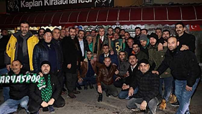 """""""Tek arzumuz Sakaryaspor'un eski günlerine dönmesidir"""""""