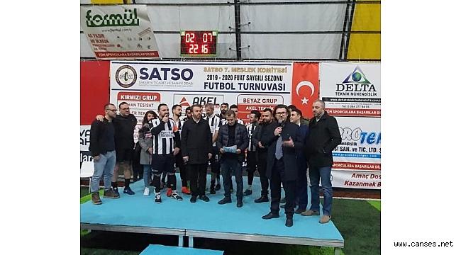 Turnuvanın Şampiyonu Delta Teknik