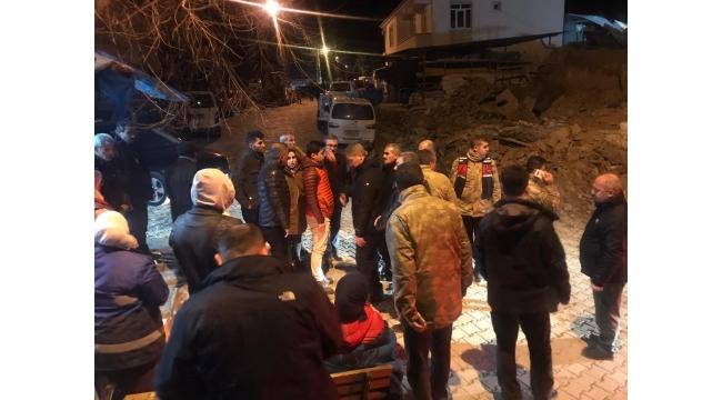 Ülkü Ocakları Deprem Bölgesinde