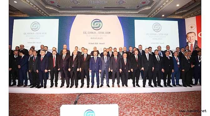 Vali Nayir Göç, Güvenlik ve Sosyal Uyum Bölgesel Üst Düzey Çalıştayına Katıldı