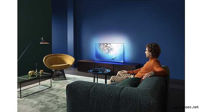 Yapay Zeka Destekli Philips OLED805/855 TV'ler Görüntü Kalitesini En Üst Seviyeye Taşıyor