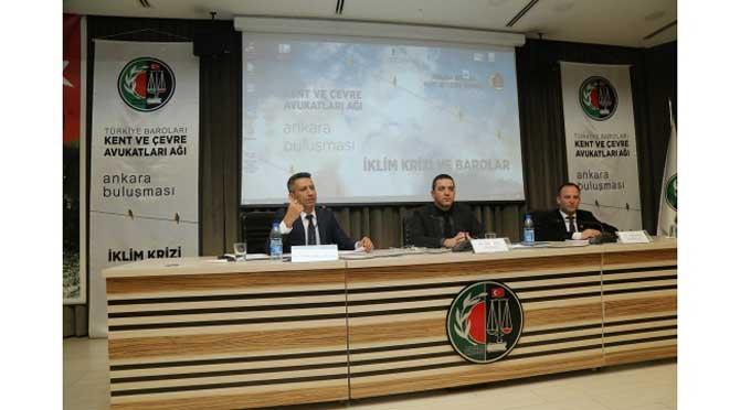Ankara'da 'İklim Krizi' konuşuldu